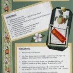 Seasoned Pork Chops With Apples - Recipe Scrapbook Layout