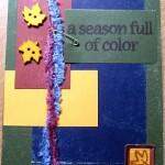 A Season Full Of Color Card