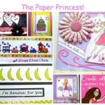 The Paper Princess - Amber Ink Recap Collage