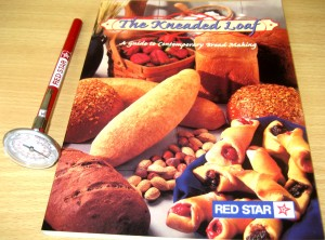 Red Star Yeast Prize - The Kneaded Loaf Cookbook & Baking Thermometer