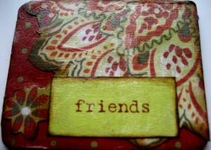 Altered Coaster - Friends