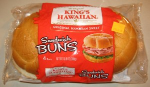 Featured Product - King's Hawaiian Sandwich Buns