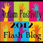 Autism Positivity Flash Blog Button