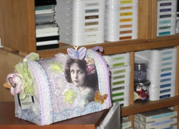 Ink Storage & Altered Art