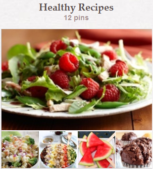 Healthy Recipes Pinterest Board at CreateWithJoy1