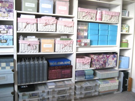 Stamp & Embellishment Storage