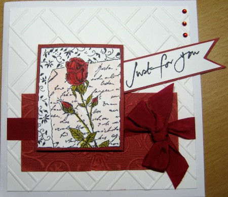 Just For You Card by Redanne