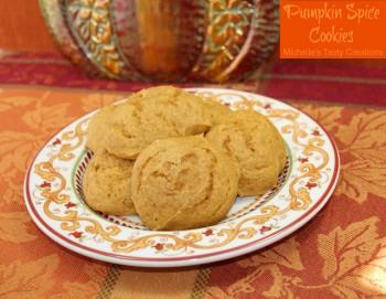 Michelle - Pumpkin Spice Cookies
