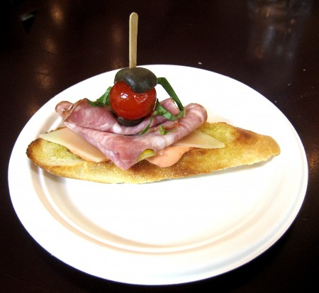 Bruschetta Sandwich - The Chesse Shoppe