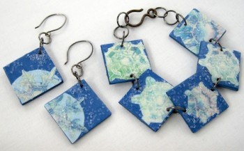Christmas Jewelry Sticker Tutorial - Rena Klingenberg