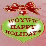WOYWW Happy Holidays