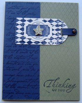 Thinking Of You Card - CWJ