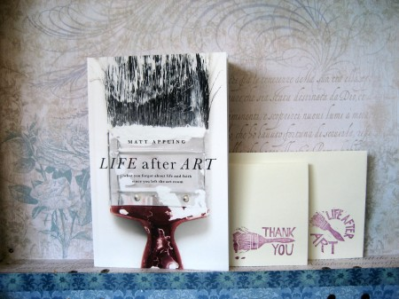 Life After Art - Book & Stamps