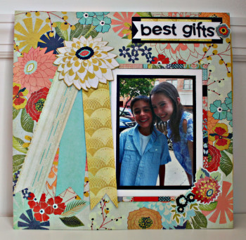 The Best Gifts SB Layout