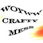 WOYWW Crafty Mess