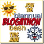 Biannual Summer Blogathon Bash - June 2013