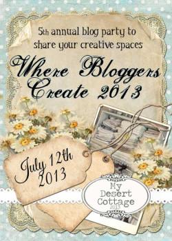 Where Bloggers Create 2013