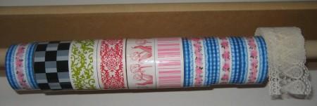 Decorative Tape Storage