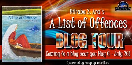 A List Of Offences Blog Tour