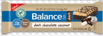 Balance Dark Chocolate Coconut Bar