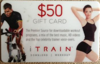 iTrain Gift Card