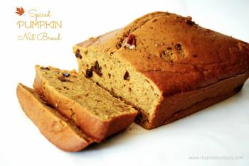 Spiced Pumpkin Nut Bread
