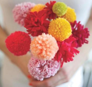 Pom-Poms - Flower Bouquet