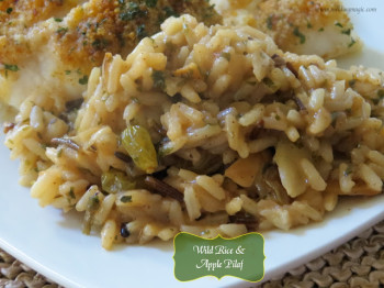 Wild Rice and Apple Pilaf - Melding Magic