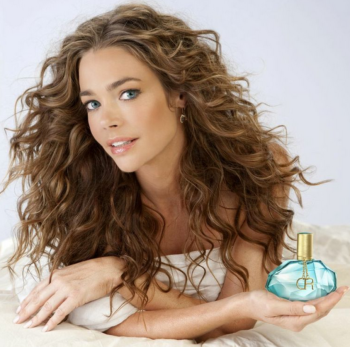 Denise Richards with her New Perfume