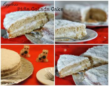 Eggless Pina Colada Cake