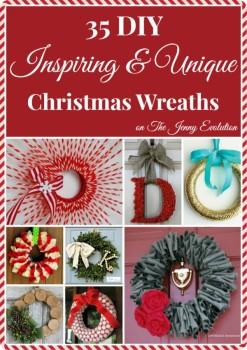 35 DIY Christmas Wreaths