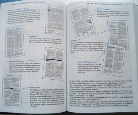 NIV Essentials Bible - Features