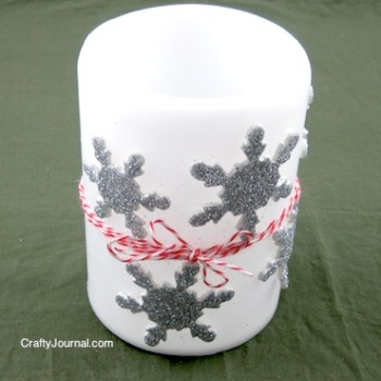 Noreen - Snowflake Candle