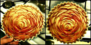 Rose Apple Pie