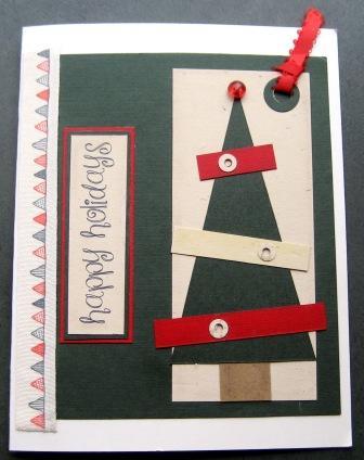 WOYWW - Christmas Tree Card