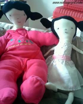 Diane - Handmade Vintage Dolls