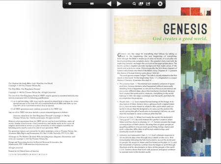 Modern Life Study Bible - Sample 1