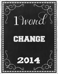 One Word 2014 - Change