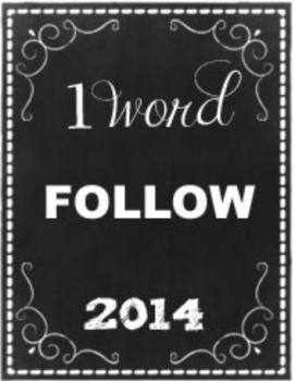 One Word - Follow