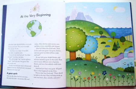 Candle Bedtime Bible - Sample Page