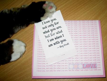 Love Card - Magellan Displays Matchbook Quote