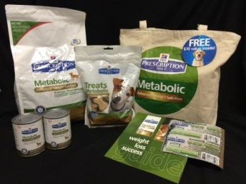 Hills Science Diet Metabolic Dog Food Giveaway