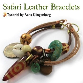 Safari Leather Bracelets
