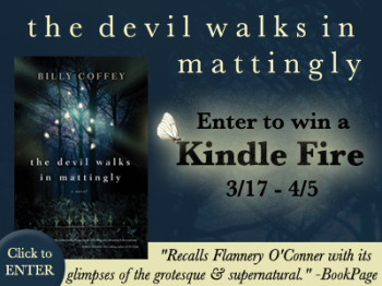 The Devil Walks In Mattingly Kindle Fire Giveaway