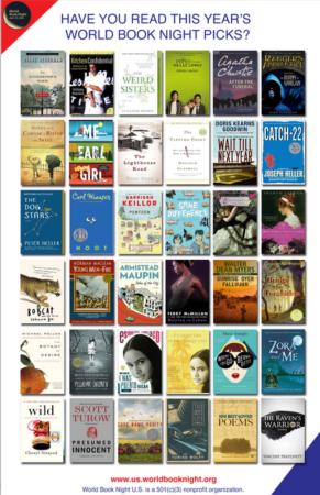 World Book Night 2014 Books