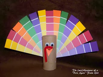 Paint Chip Turkey