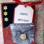 Forever In Blue Jeans Birthday Card