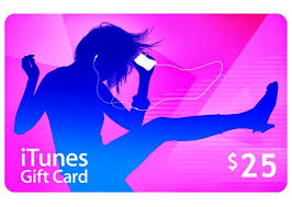 iTunes $25 Gift Card Giveaway