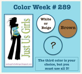 Just Us Girls Color Challenge 289