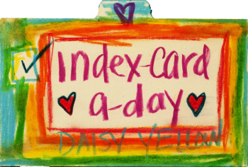 Index Card A Day Challenge 2015